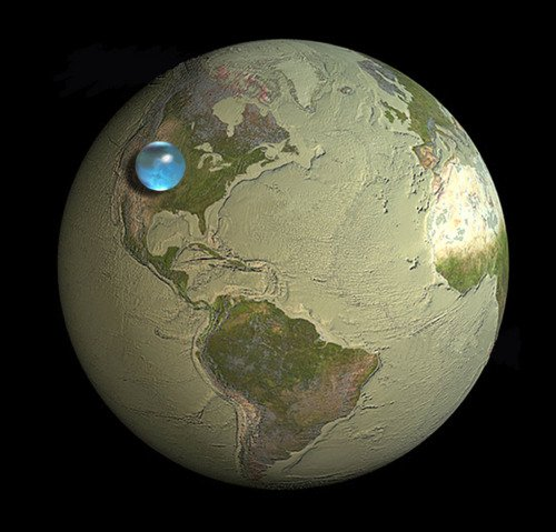 if-you-collected-all-of-earths-water-into-a-sphere-how-big-would-it-be